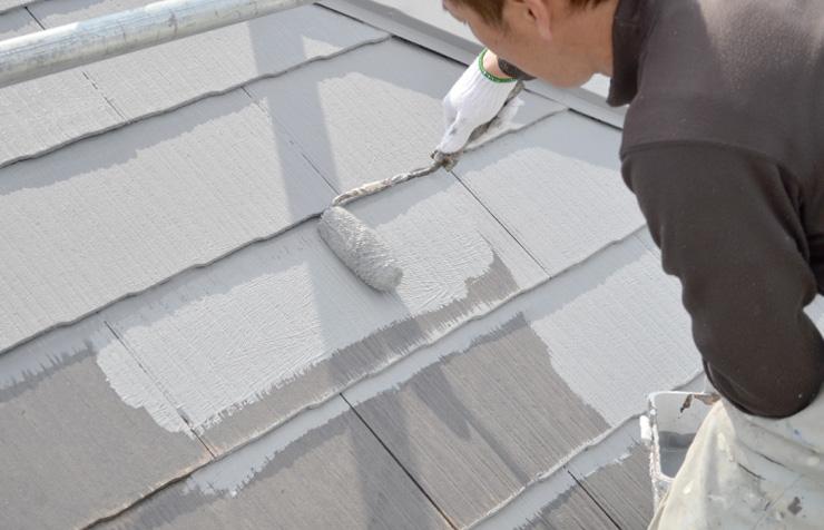 工事⑤ 屋根の塗装