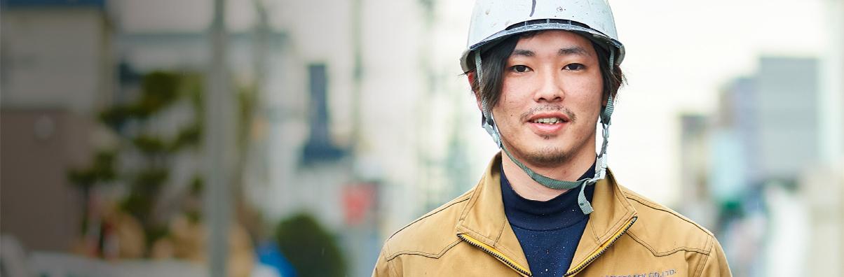 塗装工 高坂 健太(2012年入社)
