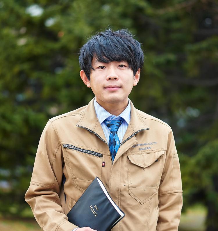 営業部 関崎 祐也(2019年入社)